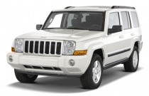 2009 Jeep Commander RWD 4-door Sport Angular Front Exterior View