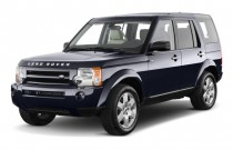 2009 Land Rover LR3 4WD 4-door V8 Angular Front Exterior View