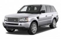 2009 Land Rover Range Rover Sport 4WD 4-door HSE Angular Front Exterior View