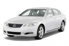2009 Lexus GS 350 4-door Sedan RWD Angular Front Exterior View