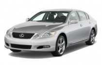 2009 Lexus GS 460 4-door Sedan Angular Front Exterior View