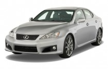 2009 Lexus IS F 4-door Sedan Angular Front Exterior View