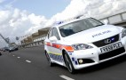 Lexus IS-F joins British police ranks