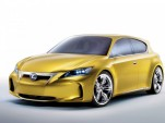 2009 Lexus LF-Ch Compact Hybrid Concept