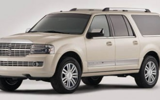 2009 Lincoln Navigator Is Fuel Economy Class Leader