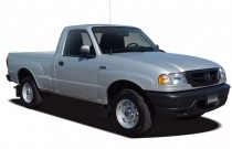 2009 Mazda B-Series Truck 2WD Reg Cab Man Angular Front Exterior View
