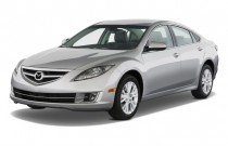 2009 Mazda MAZDA6 4-door Sedan Auto i Grand Touring Angular Front Exterior View