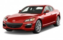 2009 Mazda RX-8 4-door Coupe Man Grand Touring Angular Front Exterior View