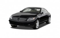 2009 Mercedes-Benz CL Class 2-door Coupe 5.5L V8 4MATIC AWD Angular Front Exterior View
