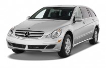 2009 Mercedes-Benz R Class AWD 4-door 3.5L 4MATIC Angular Front Exterior View