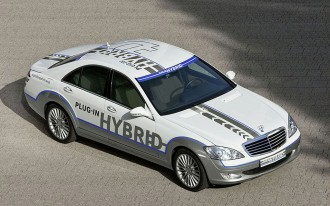 Mercedes-Benz S500 Concept for Frankfurt: Plug-In Hybrid S-Class