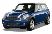 2009 MINI Cooper Clubman 2-door Coupe S Angular Front Exterior View