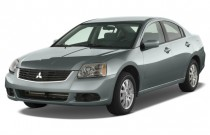 2009 Mitsubishi Galant 4-door Sedan ES Angular Front Exterior View