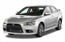 2009 Mitsubishi Lancer 4-door Sedan TC-SST Ralliart Angular Front Exterior View