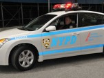2009 Nissan Altima Hybrid in NYPD police trim