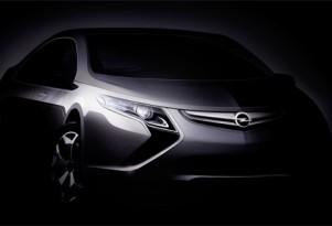 2009 Opel Ampera teaser