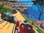 2009 Pebble Beach RetroAuto poster