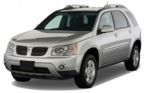 2009 Pontiac Torrent FWD 4-door Angular Front Exterior View