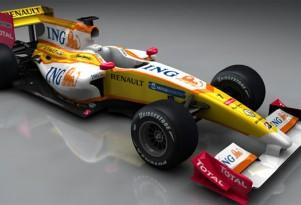 2009 R29 F1 race car