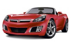 2009 Saturn Sky Ruby Red SE