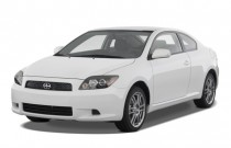 2009 Scion tC 2-door HB Man (Natl) Angular Front Exterior View