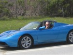 2009 Tesla Roadster, Skyline Boulevard, San Mateo, CA