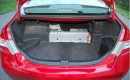 Nickel-metal-hydride hybrid battery pack in trunk of 2009 Toyota Camry Hybrid