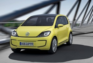 Zero-Emissions Volkswagen E-Up! Concept Rolls Out At Frankfurt
