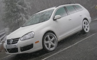 Driven: Volkswagen Jetta TDI Sportwagen. Achieved: 52.4 Mpg