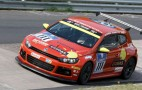 VW returns to Nurburgring with Scirocco GT24 CNG race car