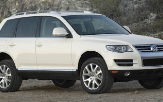 2011 Volkswagen Touareg To Launch in January at Detroit Auto Show