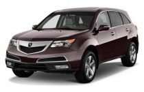 2010 Acura MDX AWD 4-door Tech Pkg Angular Front Exterior View