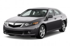 2010 Acura TSX 4-door Sedan I4 Auto Tech Pkg Angular Front Exterior View