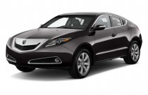 2010 Acura ZDX AWD 4-door Advance Pkg Angular Front Exterior View