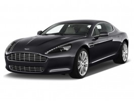 2010 Aston Martin Rapide 4-door Sedan Auto Angular Front Exterior View