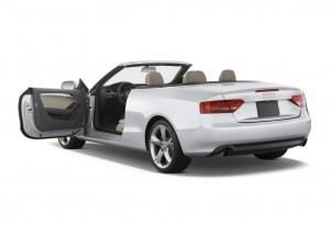 2010 Audi A5 2-door Cabriolet 2.0L FrontTrak Premium Plus Open Doors