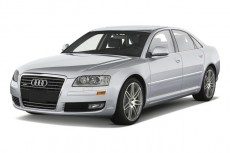 2010 Audi A8 4-door Sedan Angular Front Exterior View