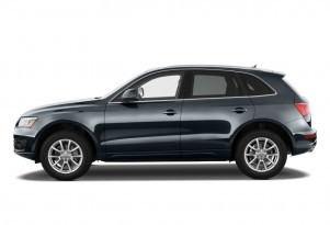 2010 Audi Q5 quattro 4-door 3.2L Premium Side Exterior View