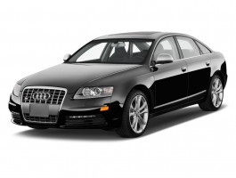 2010 Audi S6 4-door Sedan Prestige Angular Front Exterior View