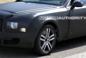 Spy Shots: 2010 Bentley Arnage 