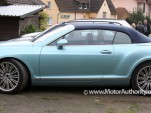 2010 Bentley Continental GTC Speed spy shots