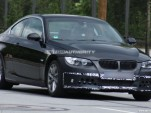 2010 BMW 3-Series facelift spy shots