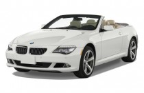 2010 BMW 6-Series 2-door Convertible 650i Angular Front Exterior View