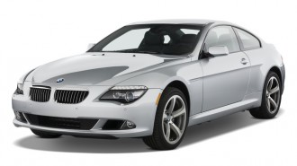 2010 BMW 6-Series 2-door Coupe 650i Angular Front Exterior View