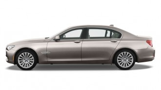 2010 BMW 7-Series 4-door Sedan 750Li RWD Side Exterior View