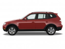 2010 BMW X3-Series AWD 4-door 30i Side Exterior View