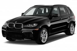 2010 BMW X5 M AWD 4-door Angular Front Exterior View
