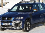 2010 BMW X5 M spy shots