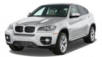 2010 BMW X6 AWD 4-door 35i Angular Front Exterior View