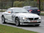 2010 BMW Z4 spy shots